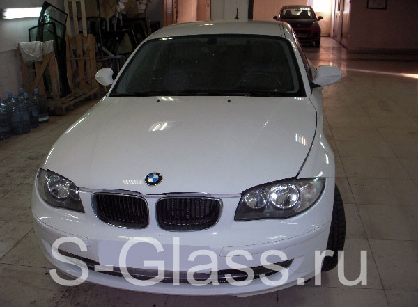 замена стекла фары на BMW e46