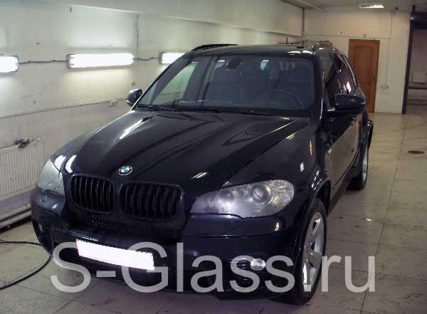 молдинг на лобовое стекло на BMW e39
